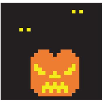 Pumpkin & Bats